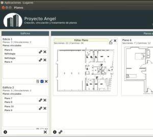 Planos para gestionar un edificio inteligente