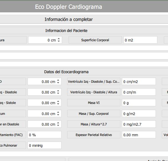 Eco Doppler Cardiograma