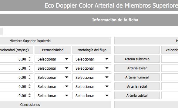 Eco Doppler color arterial de Miembros Superiores