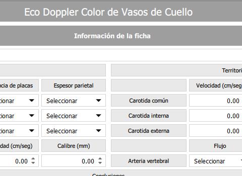Eco Doppler color Vasos de Cuello