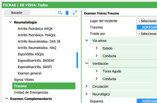 Trauma y accidentología - Examen